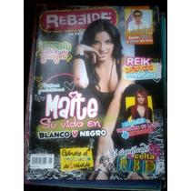 Revista Rebelde - Mayte Perroni