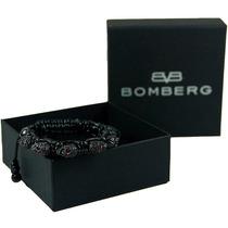 Bomberg Skully Bracelet Swarovski Negro Stone B M6 Diego Vez