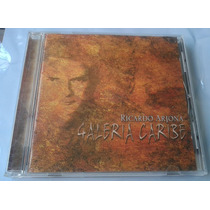 Ricardo Arjona Galeria Caribe Cd 1a Ed Made In Mexico C/book