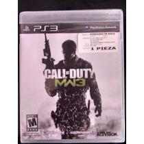 Call Of Duty Modern Warfare 3 Mw3 Para Ps3 Nuevo Sellado