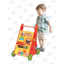 Buggie Paso A Paso Ayuda Al Bebé A Caminar Madera 1+ Biyu