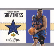 2002-03 Upper Deck Authentics Shorts Allan Houston Knicks