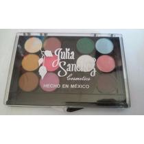Paleta 12 Colores Sombras - 05 - Julia Sanchez