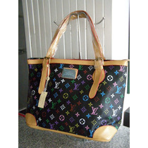 Bolsa Louis Vuitton Tote Monograms Multicolor