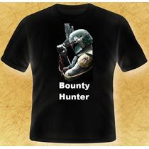 Playera Star Wars Bounty Hunter 100% Calidad