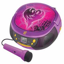 Grabadora Disney Descendientes, Radio Fm, Cd, Microfono.
