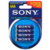 Bateria Aaa Sony Am4-b4d Estamina Plus 4x Paquete +c+