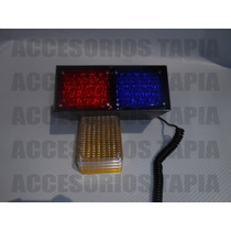 Estrobo De 40 Leds Para Tablero, Escoltas,patrullas Etc.