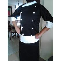 Filipina Chef Mandil Y Gorro Nuevos Cualquier Talla