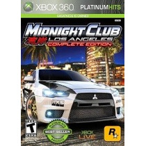 Midnight Club Los Angeles Complete Edition Xbox 360 Nuevo