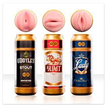 Masturbador Sex In A Can Fleshlight Elige Vagina Ano O Boca