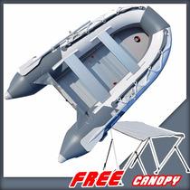 Lancha Inflable Bris Marina Pesca Resistente 9.8 Con Techo