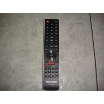 Control Tv Hisense Boton Netflix En-33926a Smart Tv