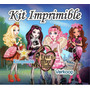 Kit Imprimible Ever After High Candy Bar Invitaciones Fiesta