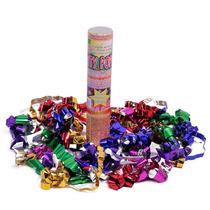 Lanza Confetti, Cañón Confetti Para Fiestas Premium -10 Pzas