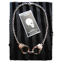 Collar Esposas Metal Gotico Punk Dark Goth Creepy