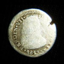 Moneda 1/2 Real 1818 Zacatecas Independencia Fernando Vii