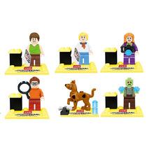 Scooby Doo Vilma Shaggy Fred Daphne Figs Compatible Con Lego