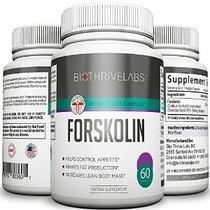 Píldoras Del Suplemento Premium Forskolin 250 Mg - 60 Cápsul