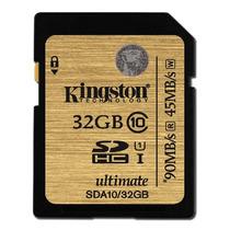 Memoria Sd 32gb Kingston Sda10/32g Clase 10 +c+