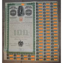 Bono - Queen Victoria - Banco De Londres Y Mexico $100, 1905