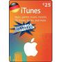 Tarjeta Gift Card Itunes Alemania 25 Euros Ipod Ipad Iphone