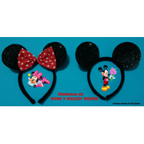Diadema De Mimi Y Mikey Mouse