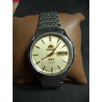 Reloj Orient Automático 21 Joyas