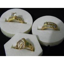 Bonitos Anillos De Oro Laminado De 14k