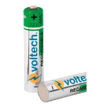 Oferta Pila Recargable Aaa 1000 Mah Larga Duracion Bateria