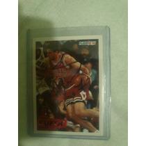Tarjeta Autografiada Tony Kukoc Chicago Bulls Nba Jordan