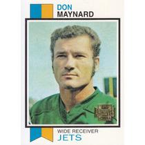 2001 Topps Archives Reprint Don Maynard Wr Jets