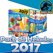 Mega Pack Michoacana 2015 Helados Aguas Y Paletas + 2 Gigas