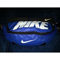 Cangurera Nike Azul Rey