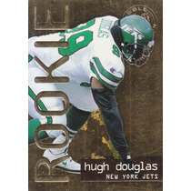 1995 Fleer Ultra Rookie Gold Medallion Hugh Douglas Jets