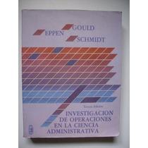 Investigación De Operaciones En La Ciencia Administrativa