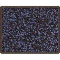 Remate De Alfombras 2x3 Color Azul Con Negro Envió Gratis