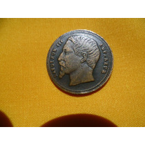 Antiguo Botón De Napoleon Ill Emperador De Francia.