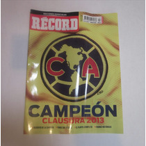 Revista America Campeon 2013 Record Edición Limitada