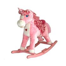Pony Caballo Rosa Para Niñas Mecedora
