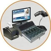 Kit Punto De Venta Mini-printer, Lector, Cajon Y Software