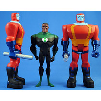 Dc Universe Justice League Unlimited Green Lantern Manhunter