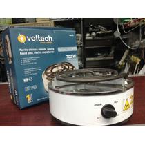 Parrilla Electrica Voltech Con Termostato 700 W