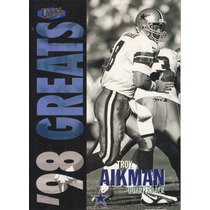 1998 Fleer Ultra Greats Troy Aikman Qb Cowboys