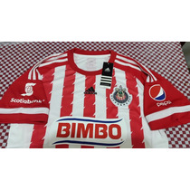 Jersey Chivas Local 2015-2016 Bravo, Gullit, Orbelin, Chofis