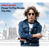 John Lennon Power To The People The Hits Cd Envio Gratis