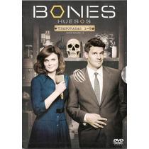 Bones Huesos . Boxset Temporadas 1 - 8 Serie De Tv En Dvd