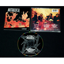 Metallica. Load. 1a-ed Elektra Usa 1996. Megadeth Anthrax