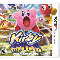 ¡kirby Triple Deluxe Para Nintendo 3ds Y 2ds En Whole Games!