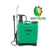 Fumigadora Aspersora Bomba Manual Hyundai 18l Ecomaqmx